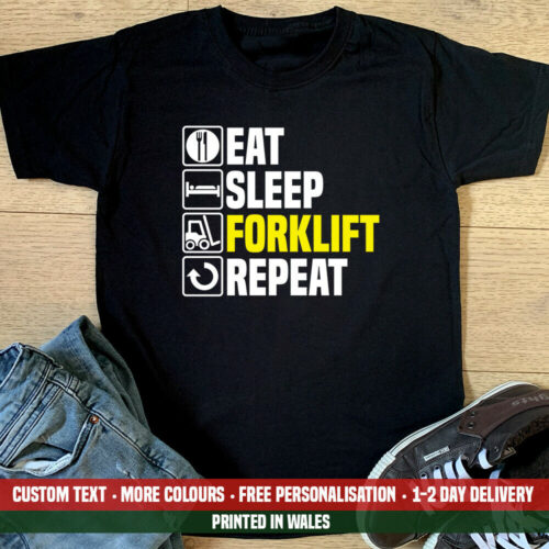 Buy this funny forklift t-shirt